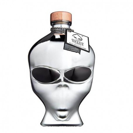 VODKA OUTER SPACE OUTERSPACE CHROME CL.70 LIMITED EDITION