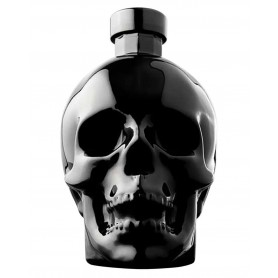 VODKA CRYSTAL HEAD ONYX LIMITED EDITION CL.70 WITH GLASS