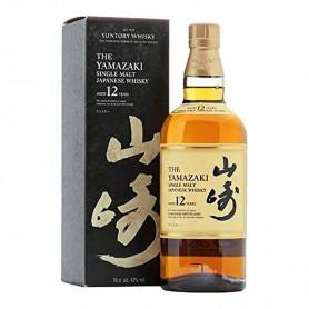 WHISKEY SUNTORY YAMAZAKI 12 YO CL.70 WITH CASE