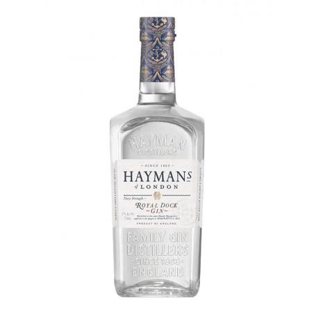 GIN HAYMAN'S ROYAL DOCK NAVY STRENGHT CL.70