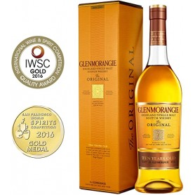 WHISKY GLENMORANGIE 10Y CL.70 MIT FALL