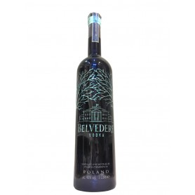 VODKA BELVEDERE GUN METAL LT.3 LUMINOUS LIMITED EDITION