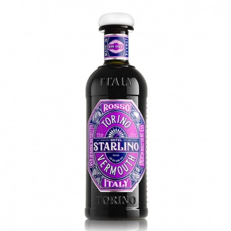 VERMOUTH STARLINO RED CL.75 WITH GLASS