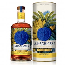 RHUM LA HECHICERA EXPERIMENTAL BANANA LIMITED SERIES N.2 CL.70 WITH CASE