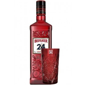 GIN BEEFEATER 24 CL.70 + 2 FREE HIGHBALL GLASSES