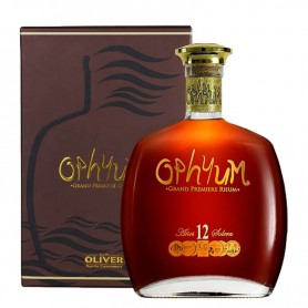 RHUM OPHYUM SOLERA 12 YO GRAND PREMIERE CL.70 CON ASTUCCIO