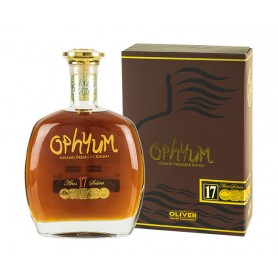 RHUM OPHYUM SOLERA 17 YO GRAND PREMIERE CL.70 WITH CASE