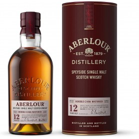 WHISKEY ABERLOUR 12 YO CL.70 WITH CASE
