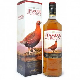 WHISKEY FAMOUS GROUSE LT.1 WITH CASE
