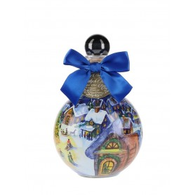 VODKA CHOPIN CHRISTMAS BAUBLE BLUE BOW CL.50