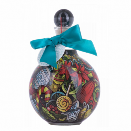 VODKA CHOPIN CHRISTMAS BAUBLE TURQUOISE BOW CL.50