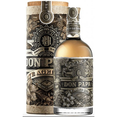 RHUM DON PAPA RYE AGED LIMITED EDITION WITH CASE CL.70