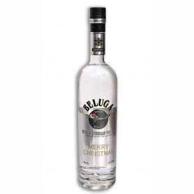 VODKA BELUGA MERRY CHRISTMAS LIMITED EDITION CL.70