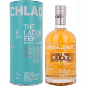 WHISKEY BRUICHLADDICH THE LADDIE EIGHT 8 YO CL.70 WITH CASE