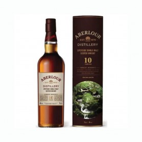 WHISKY ABERLOUR 10 YO FOREST RESERVE EDITION LIMITEE CL.70 MIT FALL