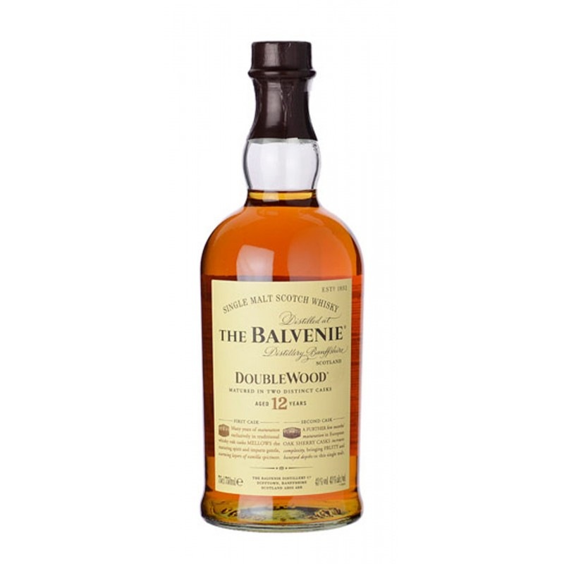 WHISKY THE BALVENIE 12Y DOUBLE WOOD CL.70