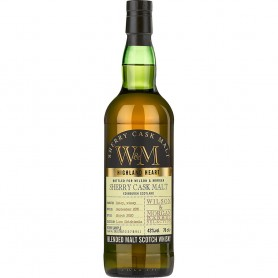 WHISKY WILSON & MORGAN SHERRY CASK MALT SINGLE HIGLAND 2011-20 CL.70
