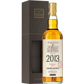 "WHISKEY WILSON & MORGAN BENRIACH 2013-21 ""SHERRY FINISH PX"" CL.70 WITH CASE"
