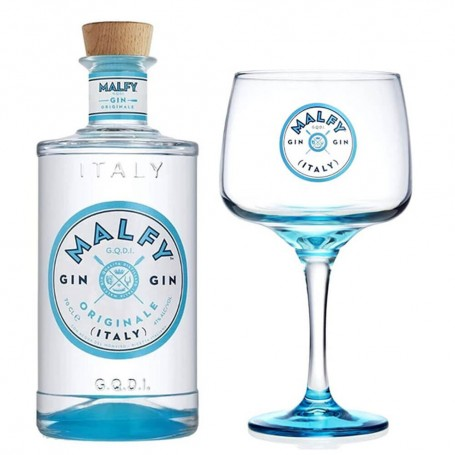 ORIGINAL GIN MALFY CL.70 WITH GLASS