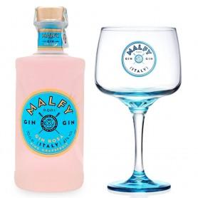 GIN MALFY PINK CL.70 MIT GLAS