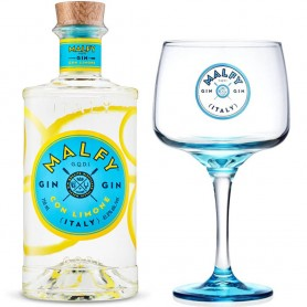 GIN MALFY WITH LEMON CL.70 WITH GLASS