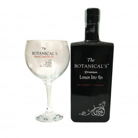GIN THE BOTANICAL'S PREMIUM CL.70 CON BICCHIERE