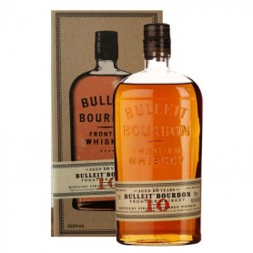 WHISKY BULLEIT FRONTIER BOURBON 10 YO CL.70 WITH BOX