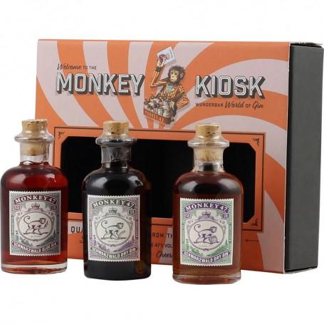 GIN MONKEY KIOSK SET CL.5 X 3 BOTTLES