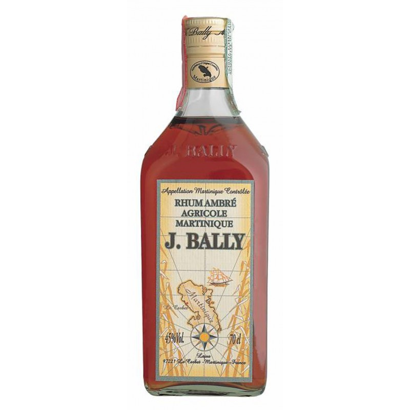 RHUM J.BALLY' AMBRE' CL.70