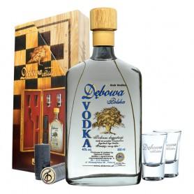 VODKA DEBOWA CL.50 WITH DAMA + 2 GLASSES
