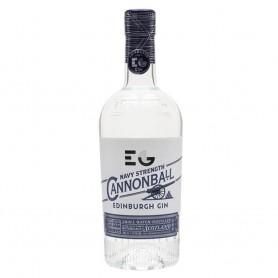 GIN EDINBURGH CANNONBALL NAVY STRENGTH CL.70