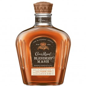 WHISKY CROWN ROYAL BLENDERS' MASH LT.1CON ASTUCCIO IN VELLUTO