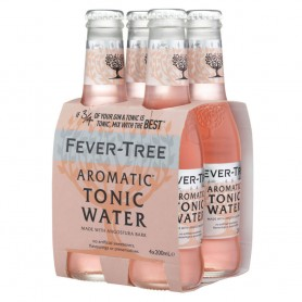 FEVER TREE AROMATIC TONIC WATER CL.20 X 4 BOTTLES