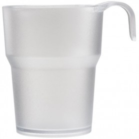 "CUP WITH HANDLE GARNET 5042 ""T-CUP"" 23 CL. SATIN"