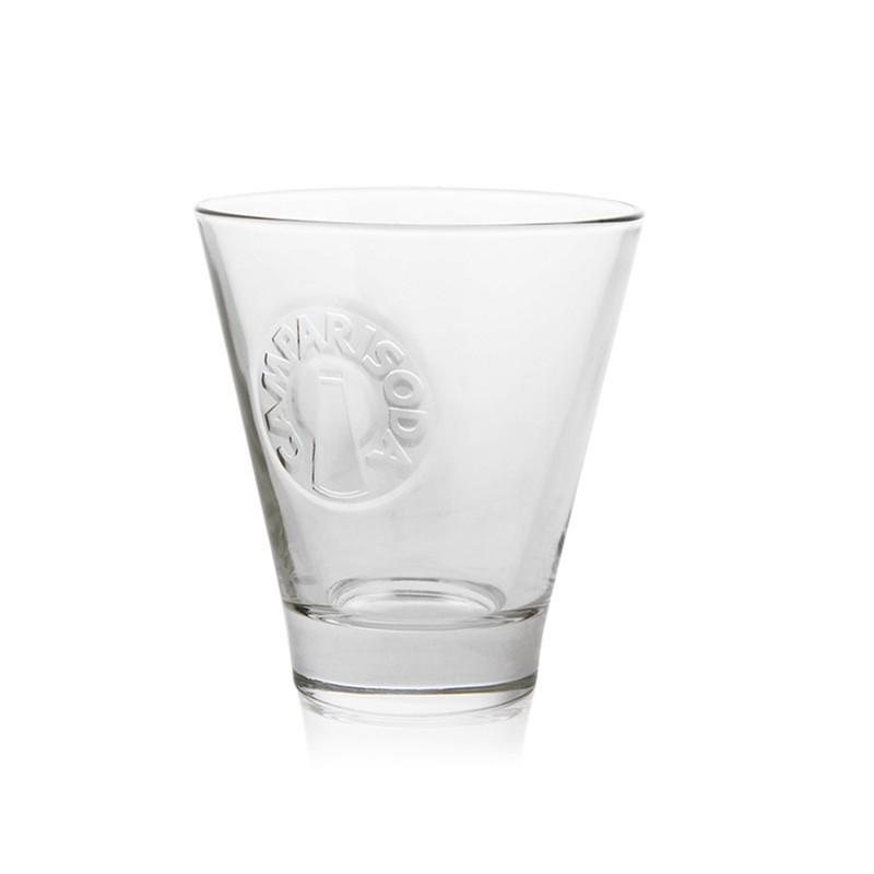 GLASS CAMPARI SODA X 6 PIECES