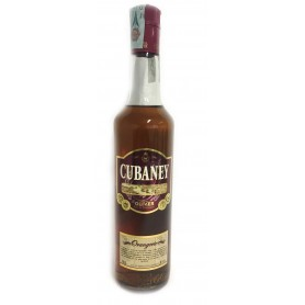 RUM CUBANEY DULCE ELIXIR ORANGERIE 12 YEARS OF AGE CL.70
