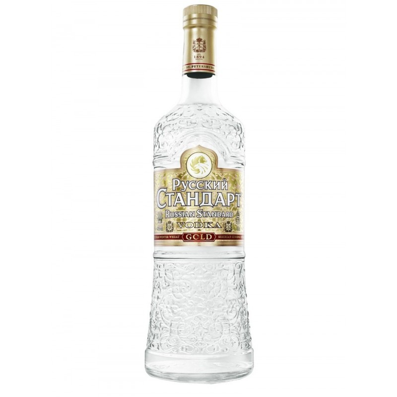 VODKA RUSSIAN STANDARD GOLD LT.1