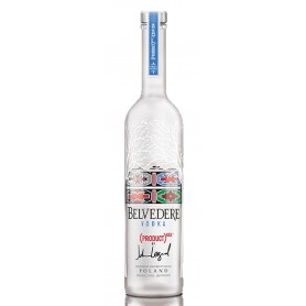 "WODKA BELVEDERE ""RED"" limited EDITION By JOHN LEGEND-MAGNUM-LT.1,75"