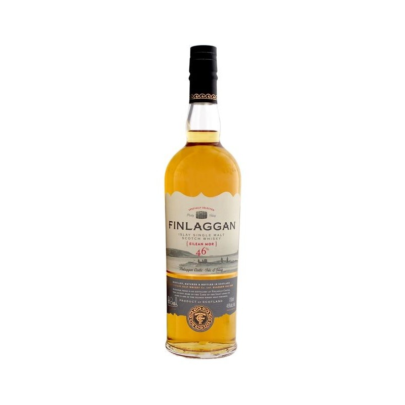 WHISKY FINLAGGAN EILEAN MOR 46 SMALL BATCH RELEASE CL.70