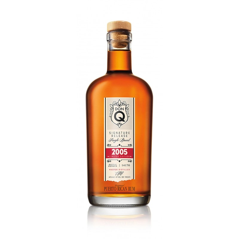 RHUM DON Q SINGLE BARREL 2005 LIMITED EDITION CL.70