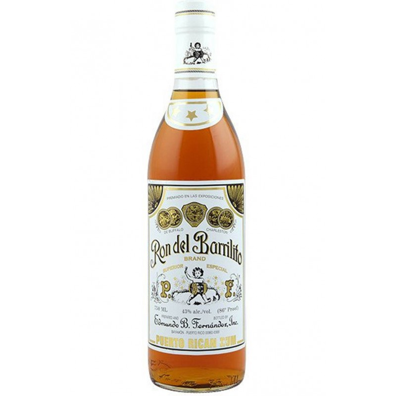 RHUM BARRILITO 3 STELLE CL.70