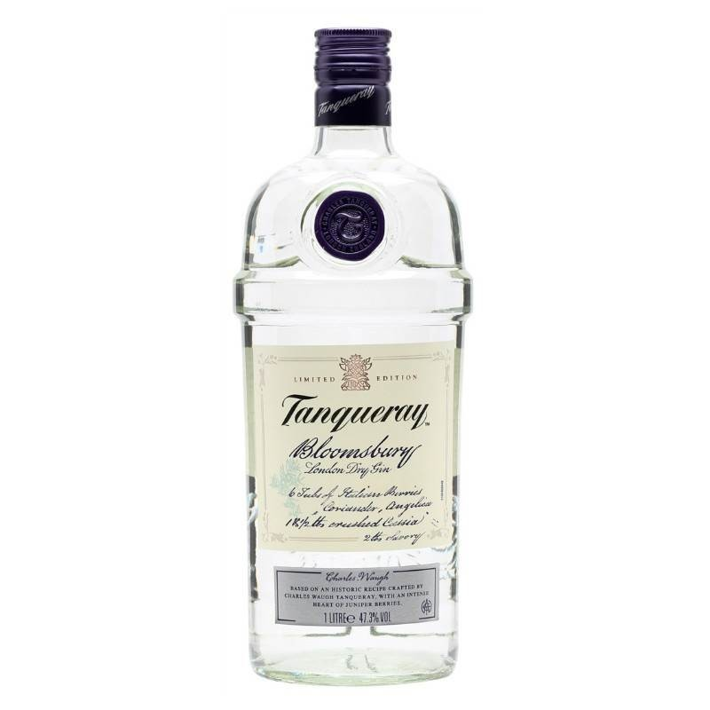 GIN TANQUERAY BLOOMSBURY LT. 1