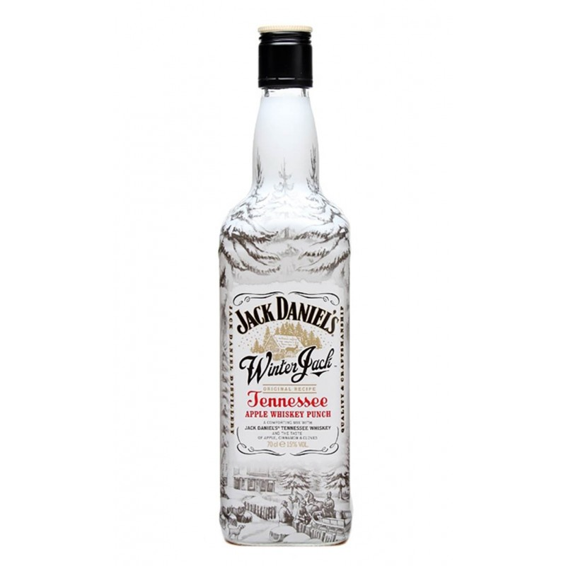 WHISKY JACK DANIEL'S WINTER JACK  APPLE CL.70