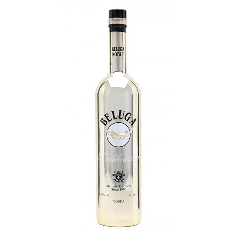 WODKA BELUGA CELEBRATION CL.70 LIMITED EDITION