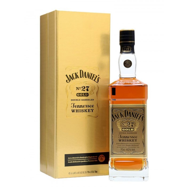 WHISKY JACK DANIEL'S N° 27 GOLD CL.70