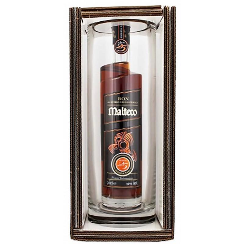 RUM MALTECO 25 YO RESERVE SELTENE CL.70 MIT GLAS