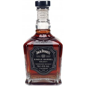 WHISKY JACK DANIEL'S SINGLE BARREL SELECT CL.70