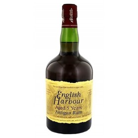 RHUM ENGLISH HARBOUR 5 YO CL.70