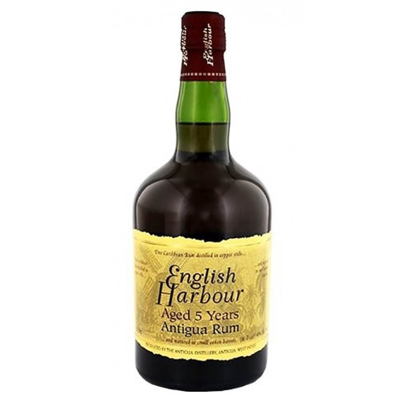 RUM ENGLISH HARBOUR 5 YO CL.70