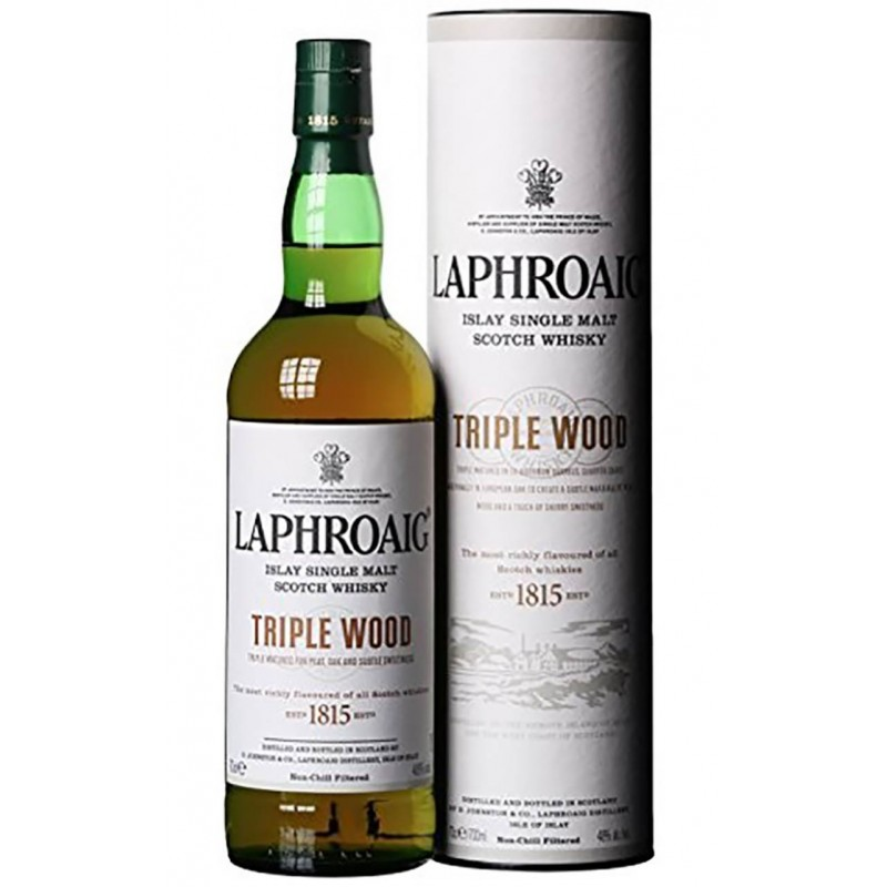 WHISKY LAPHROAIG TRIPLE WOOD CL.70